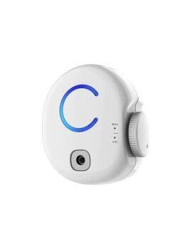 Sofá Chaise Longue DKD Home Decor Cinzento Poliéster Metal Dourado (188 x 92 x 81 cm)
