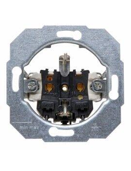 Cabeceira de Cama DKD Home Decor Branco Dourado Espelho Madeira MDF (183 x 3 x 61 cm)