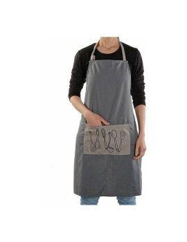 Lâmpada de Mesa DKD Home Decor Poliéster Metal (40 x 40 x 94 cm)
