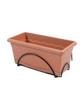 Pintura DKD Home Decor Floral 100 x 3 x 100 cm (3 pcs)
